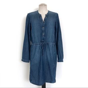 Lucky Brand Chambray Dress Size XS